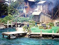 Action adventure show at Disneyland in Anaheim California