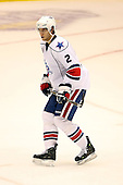 January 9th, 2009:  Michael Caruso (2) of the Rochester Amerks during the third period vs. the Syracuse Crunch at Blue Cross Arena in Rochester, NY.  Rochester defeated Syracuse 3-1 for their third straight win.  Photo Copyright Mike Janes Photography 2009