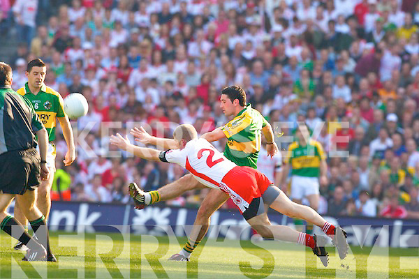 Kerry v Tyrone All ireland Final 2008 at Croke Park Dublin 21st September 2008. Bryan Sheehan