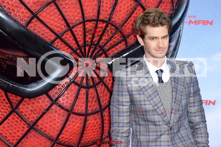 Andrew Garfield attending the Germany premiere of the movie The Amazing Spider-Man at CineStar Sony Center in Berlin. Berlin, 20.06.2012...Credit: Timm/face to face /MediaPunch Inc. ***Online Only for USA Weekly Print Magazines*** NORTEPOTO.COM<br />