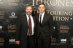 Ian Beattie and Tom Wlaschiha. the great exhibition of game of thrones begins his world-wide tour in barcelona.26th October, Barcelona.