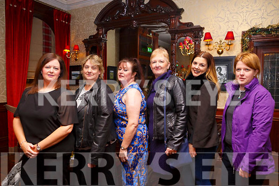 Enjoying the Womens Little Christmas celebrations in the Grand Hotel on Saturday night last. L to r, Jane Lomasney, Margaret O'Connell, Ann Shortland, Debra Buckley, Christina Lovett and Majella Forde.