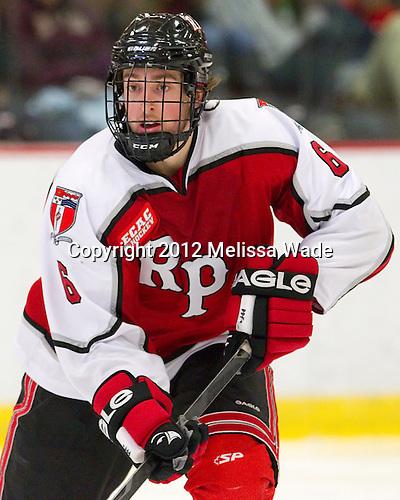 Phil Hampton (RPI - 6) - The Harvard University Crimson defeated the visiting Rensselaer Polytechnic Institute Engineers 4-0 (EN) on Saturday, November 10, 2012, at Bright Hockey Center in Boston, Massachusetts.