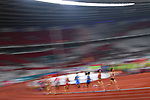 Ambience shot, €Yuka Hori (JPN), <br /> AUGUST 25, 2018 - Athletics : Women's 10000m Final at Gelora Bung Karno Main Stadium during the 2018 Jakarta Palembang Asian Games in Jakarta, Indonesia. <br /> (Photo by MATSUO.K/AFLO SPORT)