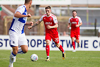 Ashley Hunter of Fleetwood Town during the Sky Bet League 1 match between Bristol Rovers and Fleetwood Town at the Memorial Stadium, Bristol, England on 26 August 2017. Photo by Mark  Hawkins.