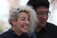 Romina Iniesta and Victor Lopez attend the photocall for 'Murder Me, Monster (Meurs, Monstre, Meurs)' during the 71st annual Cannes Film Festival at Palais des Festivals on May 13, 2018 in Cannes, France.<br /> CAP/GOL<br /> &copy;GOL/Capital Pictures