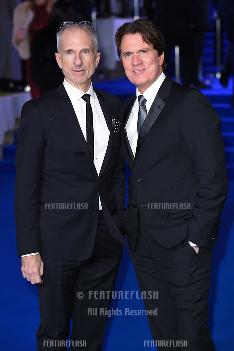 "LONDON, UK. December 12, 2018: John Deluca & Rob Marshall at the UK premiere of ""Mary Poppins Returns"" at the Royal Albert Hall, London.<br /> Picture: Steve Vas/Featureflash"