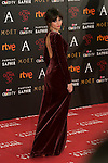 Ursula Corbero attends 30th Goya Awards red carpet in Madrid, Spain. February 06, 2016. (ALTERPHOTOS/Victor Blanco)