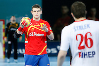 Spain and Croatia during 23rd Men's Handball World Championship preliminary round match, in the pic:Aitor Bengoechea. January 19 ,2013. (ALTERPHOTOS/Caro Marin) /NortePhoto
