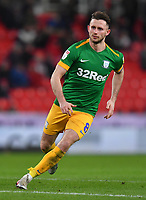 Preston North End's Alan Browne<br /> <br /> Photographer Dave Howarth/CameraSport<br /> <br /> The EFL Sky Bet Championship - Stoke City v Preston North End - Wednesday 12th February 2020 - bet365 Stadium - Stoke-on-Trent <br /> <br /> World Copyright © 2020 CameraSport. All rights reserved. 43 Linden Ave. Countesthorpe. Leicester. England. LE8 5PG - Tel: +44 (0) 116 277 4147 - admin@camerasport.com - www.camerasport.com