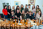 Michelle Galvin (front and center) of Caherane celebrated her 30th birthday with family and friends at Bella Bia Restaurant on Sunday evening.
