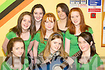GIRL GROUP: St Senan's singers at the Variety finals in the Aras Padraig, Killarney, on Saturday were front l-r: Angela O'Connor, Aoife Trench and Marianne Nolan. Back l-r: Maria O'Halloran, Connie Barry, Catriona O'Halloran, Catriona Dillon and Michelle Enright.   Copyright Kerry's Eye 2008