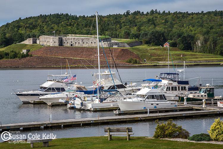 Fort Knox in Bucksport, Maine, USA