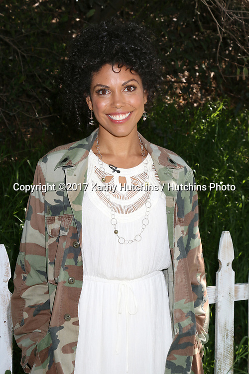"LOS ANGELES - APR 14:  Karla Mosley at the ""Home and Family"" Celebrates ""Bold and Beautiful's"" 30 Years at Universal Studios Back Lot on April 14, 2017 in Los Angeles, CA"