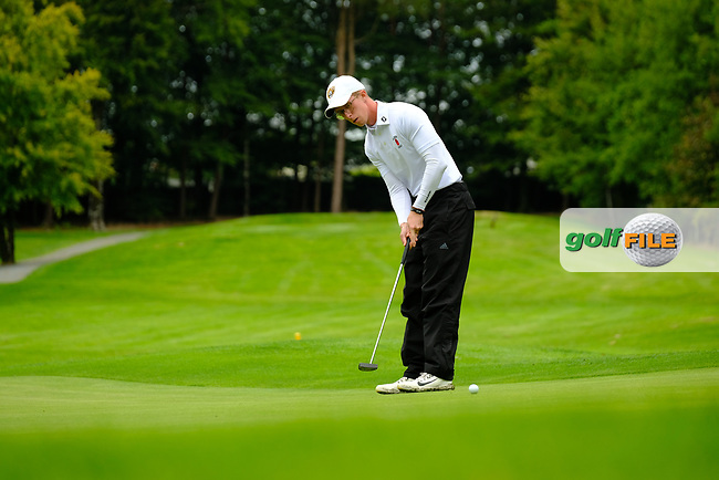 Marc Norton (Ulster) during final day foursomes at the Interprovincial Championship 2018, Athenry golf club, Galway, Ireland. 31/08/2018.<br /> Picture Fran Caffrey / Golffile.ie<br /> <br /> All photo usage must carry mandatory copyright credit (© Golffile | Fran Caffrey)