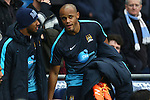 Vincent Kompany of Manchester City returns to the bench - Manchester City vs Sunderland - Barclays Premier League - Etihad Stadium - Manchester - 26/12/2015 Pic Philip Oldham/SportImage