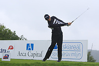 Nathan Holman (AUS) on the 3rd tee during Round 2 of the D+D Real Czech Masters at the Albatross Golf Resort, Prague, Czech Rep. 01/09/2017<br /> Picture: Golffile | Thos Caffrey<br /> <br /> <br /> All photo usage must carry mandatory copyright credit     (&copy; Golffile | Thos Caffrey)