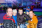 Danny, Charlie, Harry, Lucas, Sasha Cremin at the Killarney on Ice on Saturday