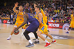 League ACB-ENDESA 2017/2018 - Game: 12.<br /> FC Barcelona Lassa vs Herbalife Gran Canaria: 77-88.<br /> Rakim Sanders vs Oriol Pauli.