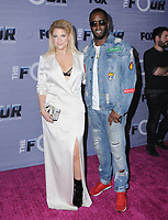 "08 February 2018 - West Hollywood, California - Meghan Trainor, Sean ""Diddy"" Combs. The Four: Battle For Stardom season finale viewing party held at Delilah. Photo Credit: Birdie Thompson/AdMedia"