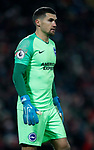 Matthew Ryan of Brighton during the Premier League match at Anfield, Liverpool. Picture date: 30th November 2019. Picture credit should read: Simon Bellis/Sportimage