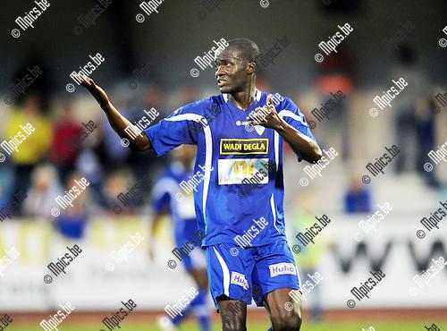 2013-08-15 / Voetbal / seizoen 2013-2014 / KV Turnhout / Sulaiman Shabi<br /><br />Foto: Mpics.be