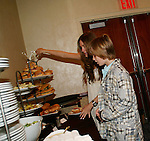 BethAnn Bonner and Austin Williams at the One Life To Live Fan Club Luncheon on August 16, 2008 at the New York Marriott Marquis, New York, New York.  (Photo by Sue Coflin/Max Photos)