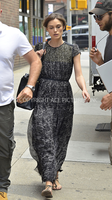 WWW.ACEPIXS.COM....July 23 2012, New York City....Actress Keira Knightley on the set of 'Can a Song Save Your Life?' on July 23, 2012 in New York City. ......By Line: Curtis Means/ACE Pictures......ACE Pictures, Inc...tel: 646 769 0430..Email: info@acepixs.com..www.acepixs.com