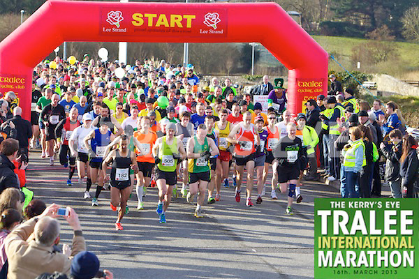 Pictured at the start line of the Kerry's Eye, Tralee International Marathon on Saturday March 16th 2013.