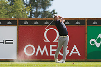 Hideto Tanihara (JPN) in action on the 16th hole during third round at the Omega European Masters, Golf Club Crans-sur-Sierre, Crans-Montana, Valais, Switzerland. 31/08/19.<br /> Picture Stefano DiMaria / Golffile.ie<br /> <br /> All photo usage must carry mandatory copyright credit (© Golffile | Stefano DiMaria)