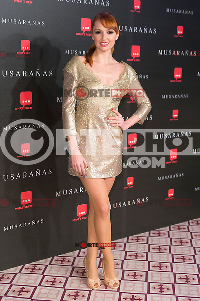 "Cristina Castano attend the Premiere of the movie ""Musaranas"" in Madrid, Spain. December 17, 2014. (ALTERPHOTOS/Carlos Dafonte) /NortePhoto /NortePhoto.com"