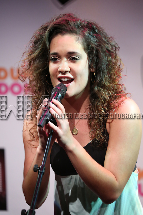 'Volleygirls' featuring Gerianne Perez  Performing at The New York Musical Theatre Festival - Special Preview at The Studio Theatre on July 2, 2013 in New York City.