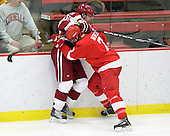 Alex Killorn (Harvard - 19), Braden Birch (Cornell - 7) - The visiting Cornell University Big Red defeated the Harvard University Crimson 2-1 on Saturday, January 29, 2011, at Bright Hockey Center in Cambridge, Massachusetts.