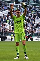 Gianluigi Buffon of Juventus <br /> Torino 28/09/2019 Allianz Stadium <br /> Football Serie A 2019/2020 <br /> Juventus FC - SPAL <br /> Photo OnePlusNine / Insidefoto