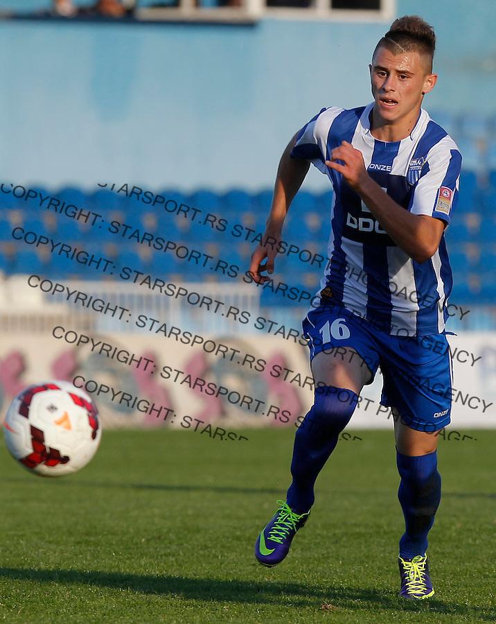 Fudbal Super liga season 2013-2014<br /> Ofk Beograd v Jagodina<br /> Dejan Drazic<br /> Beograd, 09.11.2013.<br /> foto: Srdjan Stevanovic/Starsportphoto &copy;