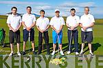 GOLF: The Tralee Senior Cup Team who played Dooks in the first round of the Senior Cup at Tralee Golf Club, on Saturday morning, l-r: Fergal O'Sullivan, Eoghan O'Donnell, Raymond Keily, David Power (manager), David Hennebery and Darren O'Sullivan.