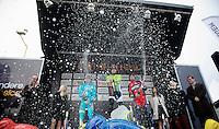 Gent-Wevelgem 2013.champagne shower