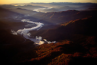 Aerial of Smoky Mountain National Park