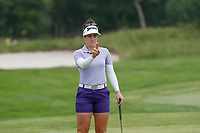 Rebecca Artis (AUS) lines up a putt on the 5th hole during the final round of the ShopRite LPGA Classic presented by Acer, Seaview Bay Club, Galloway, New Jersey, USA. 6/10/18.<br /> Picture: Golffile   Brian Spurlock<br /> <br /> <br /> All photo usage must carry mandatory copyright credit (&copy; Golffile   Brian Spurlock)