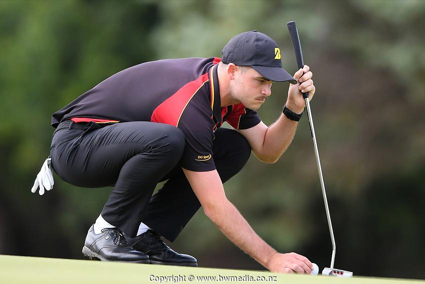 Charlie Small Waikato, 2019 New Zealand Men's Interprovincials, Hastings Golf Club, Hawke's Bay, New Zealand, Tuesday 26th November, 2019. Photo: Kerry Marshall/www.bwmedia.co.nz
