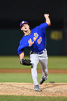 Jared Padgett (23) of Graceville High School in Graceville, Florida playing for the New York Mets scout team during the East Coast Pro Showcase on July 31, 2014 at NBT Bank Stadium in Syracuse, New York.  (Mike Janes/Four Seam Images)