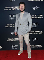 """04 February 2019 - Hollywood, California - Aidan Turner. """"The Man Who Killed Hitler and Then the Bigfoot"""" Los Angeles Premiere held at Arclight Hollywood. Photo Credit: Birdie Thompson/AdMedia"""