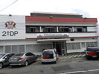 ATENÇÃO EDITOR: FOTO EMBARGADA PARA VEÍCULOS INTERNACIONAIS. - SÃO PAULO - SP -  11 DE DEZEMBRO 2012. Thiago Cristiano de Andrade matou a ex namorada com 16 facadas na Rua maria Antonia, 130 - apt 201.Ocorrencia no 2DP e transferido para o CDPII Belém. FOTO: MAURICIO CAMARGO / BRAZIL PHOTO PRESS.