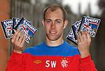 Steven Whittaker promotes Rangers music service