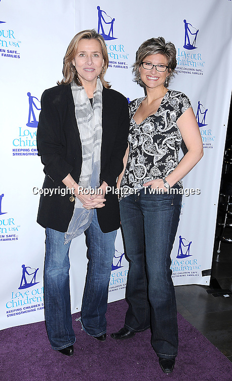 Meredith Vieira and Ashleigh Banfield.at The Love Our Children USA National Love Our Children .Day on April 5, 2008 at Spotlight Live in New York City which was hosted by Cameron Mathison. ..Robin Platzer, Twin Images