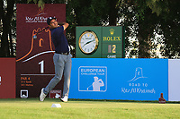 Hugo Leon (CHI) during round 2, Ras Al Khaimah Challenge Tour Grand Final played at Al Hamra Golf Club, Ras Al Khaimah, UAE. 01/11/2018<br /> Picture: Golffile | Phil Inglis<br /> <br /> All photo usage must carry mandatory copyright credit (&copy; Golffile | Phil Inglis)