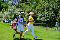Jiyai Shin (KOR) departs the first tee during Sunday's final round of the 2017 KPMG Women's PGA Championship, at Olympia Fields Country Club, Olympia Fields, Illinois. 7/2/2017.<br /> Picture: Golffile | Ken Murray<br /> <br /> <br /> All photo usage must carry mandatory copyright credit (&copy; Golffile | Ken Murray)