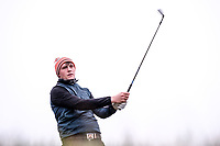 Robert Brazill (Naas) during the final of the 2018 West of Ireland, in Co Sligo Golf Club, Rosses Point, Sligo, Co Sligo, Ireland. 03/04/2018.<br /> Picture: Golffile | Fran Caffrey<br /> <br /> <br /> All photo usage must carry mandatory copyright credit (&copy; Golffile | Fran Caffrey)
