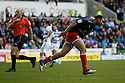 Darius Charles of Stevenage turns away after scoring the winning goal.Reading v Stevenage - FA Cup 3rd Round - Madejski Stadium,.Reading - 7th January, 2012.© Kevin Coleman 2012