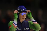 SCHAATSEN: HEERENVEEN: 12-12-2014, IJsstadion Thialf, ISU World Cup Speedskating, Thijsje Oenema (NED), ©foto Martin de Jong